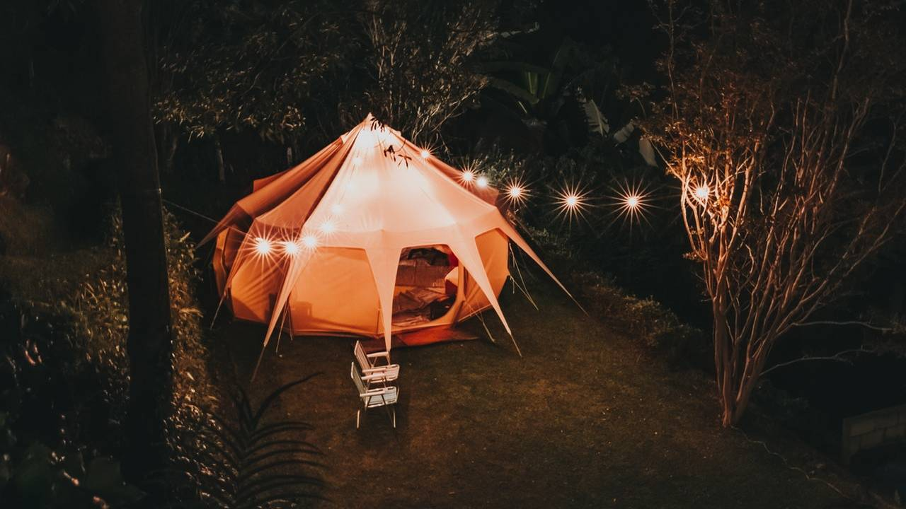 glamping significato